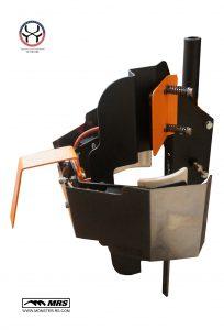 Система ремонта клюшек в трубе с ускорителем